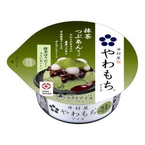 井村屋 やわもちアイス 抹茶つぶあんカップ 140ml 1個 同一梱包可|ko-ricom