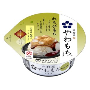 井村屋 やわもちアイス わらびもちカップ 140ml 1個 同一梱包可|ko-ricom