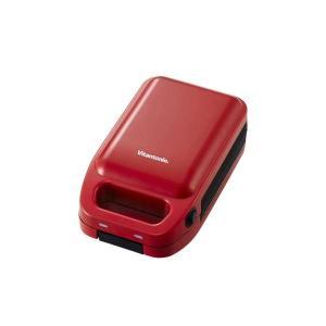 ビタントニオ Vitantonio 厚焼きホットサンドベーカー goooodグード VHS-10-TM トマト赤|ko-te-ya