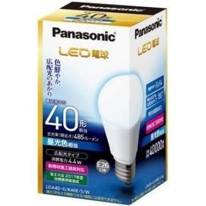 パナソニック Panasonic LED電球 一般電球形 LDA4D-G/K40E/S/W 昼光色相当 広配光タイプ 485lm|ko-te-ya