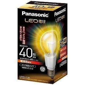 パナソニック 調光器非対応LED電球(一般電球形・全光束485lm/電球色相当・口金E26) LDA5L/C/W|ko-te-ya