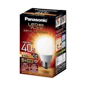 パナソニック Panasonic 調光器非対応LED電球 「LED電球プレミア」(一般電球形・全光束485lm/電球色相当・口金E26) LDA5L-G/Z40E/S/W/2|ko-te-ya