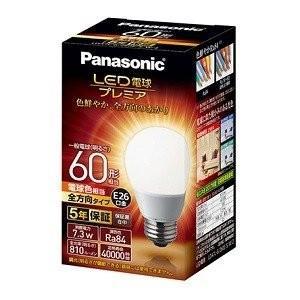 パナソニック Panasonic LED電球プレミア 全方向タイプ LDA7L-G/Z60E/S/W/2 電球色・60形相当|ko-te-ya
