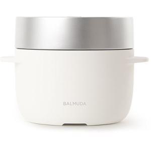 バルミューダ BALMUDA The Gohan ザ・ゴハン 炊飯器 3合 K03A-WH ホワイト|ko-te-ya
