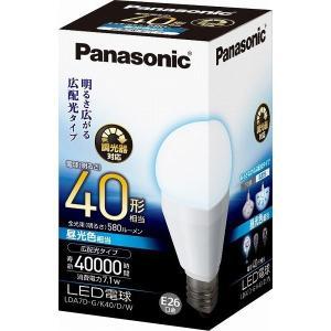 パナソニック LED電球 一般電球形 7.1W(昼光色相当)(調光器対応) Panasonic 広配光 調光タイプ LDA7D-G/ K40/ D/ W|ko-te-ya