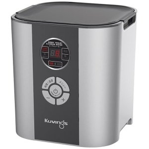 クビンス Kuvings  ヨーグルト&チーズメーカー/KGY-713SM シルバー 甘酒 塩麹 納豆 味噌 発酵食品|ko-te-ya