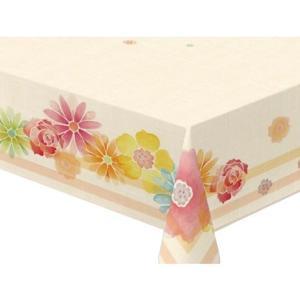 テーブルクロス コンプリートクロスシリーズ(complete)  120cm×150cm ピンク シャトールー P|ko-te-ya