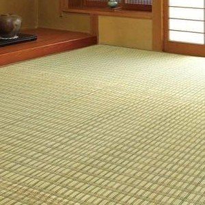 掛川織花ござ(い草敷物) 174×174cm|ko-te-ya