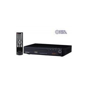 OHM 07-8368 CPRM対応 DVDプレーヤー 368Z 黒 DVD-368Z|ko-te-ya