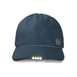 防災やアウトドアに! TELUS テラス LED内蔵 リバーシブルキャップ 消防防災推奨品 USBケーブルセット|ko-te-ya