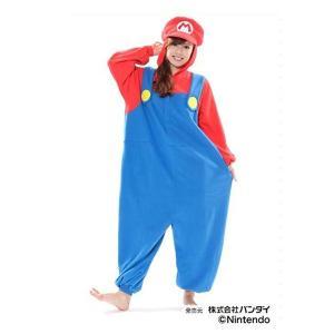 サザック フリース着ぐるみ スーパーマリオ マリオ BAN-056 フリーサイズ(大人用)|ko-te-ya
