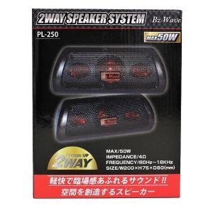 PL-250 置き型2WAYスピーカー MAX50W 小型|ko-te-ya