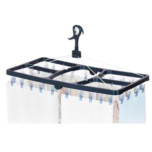LAUNDRY 洗濯用品 CLR ジャンボ角ハンガー ポリカ 42P|ko-te-ya