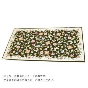 川島織物セルコン ミントン ハドンホール マット 68×120cm FH1204 15G グリーン|ko-te-ya
