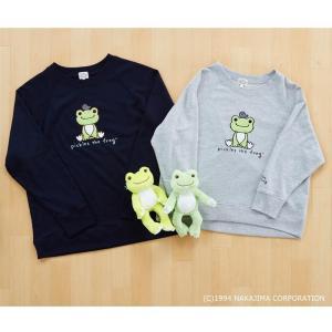 かえるのピクルス スウェットTシャツ M〜L PT40890|ko-te-ya
