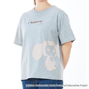 チェブラーシカ ビッグプリントTシャツ CT40927|ko-te-ya