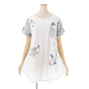 カイト君 AラインTシャツ オフ 193325-01|ko-te-ya