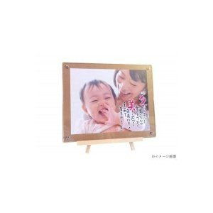 ベビーメモリアル・出産祝い ベビーフォト写真立て(ネーム&ポエム) 598 お仕立券タイプ|ko-te-ya