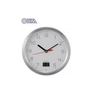 OHM お風呂用クロック&温度計 HB-T09-S ko-te-ya