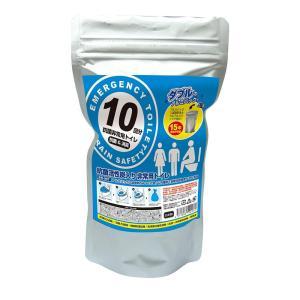 抗菌ヤシレット 10年保存・抗菌非常用トイレ(凝固剤のみ)10回 BR-907|ko-te-ya