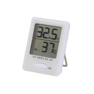 OHM デジタル温湿度計 白 HB-TO3-W ko-te-ya