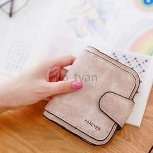 財布 折り財布 レディース シンプル スナップ 全6色 ミニウォレット プレゼント 手触りいい パーティー 結婚式 おしゃれ|ko-tyan