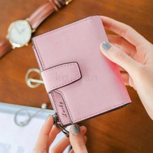 財布 折り財布 レディース シンプル スナップ スエード 全7色 ミニウォレット プレゼント 手触りいい パーティー 結婚式 おしゃれ|ko-tyan