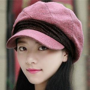 キャスケット 帽子 小顔効果 スウェット レディース 全9色 つば広 折りたたみ 秋冬 uvカット キャップ おしゃれ|ko-tyan
