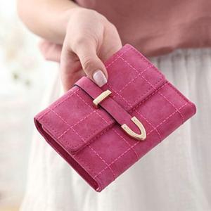 財布 折り財布 レディース 二つ折り バックル開閉 プレゼント 手触りいい パーティー 通勤 結婚式 おしゃれ|ko-tyan