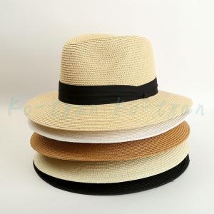 麦わら帽子 ストローハット 父の日 パナマ帽 メンズ 男性用 ベルト UVカット 春夏 日よけ帽子 紫外線対策 リゾート パナマ帽 旅行 登山 釣り ビーチ ko-tyan