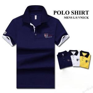 ポロシャツ メンズ 半袖ポロ POLO シャツ Tシャツ スポーツ 無地  胸刺繍 カジュアル ゴルフウェア 大きいサイズ ビジネス 父の日 ギフト 夏新作|ko-tyan