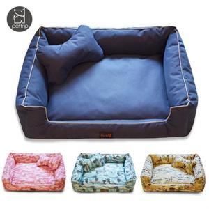 ペットベッド クッション ベッド 枕付き 犬猫兼用 シンプル 可愛い ふわふわ 柔らかい 春夏秋冬 ペット犬用品 猫用品 ぐっすり眠れる 選べる5色 ko-tyan