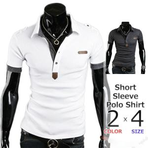 ゴルフウェア メンズ ポロシャツ 夏服 半袖 ビジネス シンプル 春夏 おしゃれ 文字 黒 白 poloシャツ 20代 30代 40代 50代 60代 メンズスタイル|ko-tyan