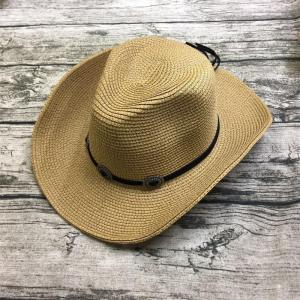 麦わら帽子 メンズ テンガロンハット ウエスタンハット カウボーイハット ストローハット つば広ハット 日よけ帽子 紫外線対策 父の日 パナマ帽 旅行 ko-tyan