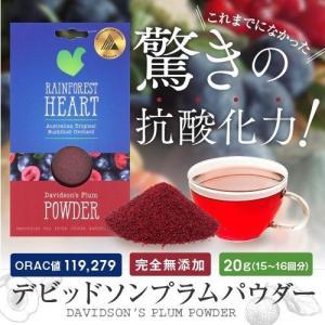 デビッドソンプラムパウダー お得な2パック スーパーフルーツ エイジングケア 無農薬 無添加 送料無...