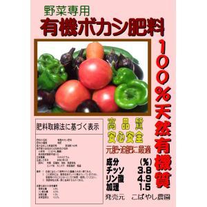 「野菜専用」発酵肥料 有機ボカシ肥料 10kg