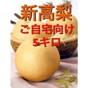 新高梨は、新潟の「天の川梨」と高知の「今村秋梨」をかけ合わせて作られた品種で、その名前の由来ともなっ...