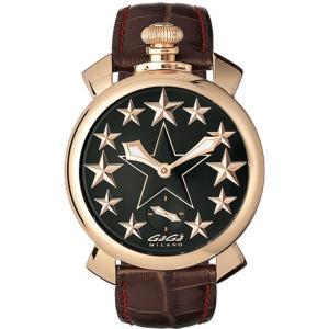 腕時計 GaGa MILANO ガガミラノ Manuale48mm STARS 5011.STARS.01 メンズ時計|kobayashi-tokeiten