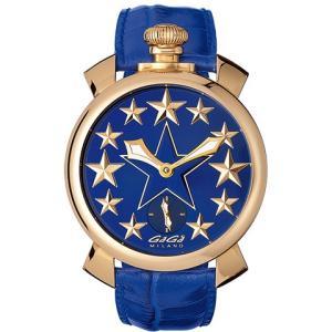 腕時計 GaGa MILANO ガガミラノ Manuale48mm STARS 5011.STARS.02 メンズ時計|kobayashi-tokeiten