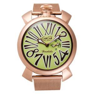 腕時計 GaGa MILANO ガガミラノ SLIM 46mm 限定モデル 5081.L.E.HO.3  レディース時計|kobayashi-tokeiten