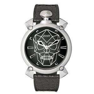 GaGa MILANO ガガミラノ マヌアーレ Manuale 45mm Bionic Skull バイオニックスカル 6010.01S 世界限定500本 メンズ時計|kobayashi-tokeiten