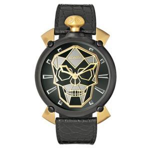 GaGa MILANO ガガミラノ マヌアーレ Manuale 45mm Bionic Skull バイオニックスカル 6314.01S 世界限定500本 メンズ時計|kobayashi-tokeiten