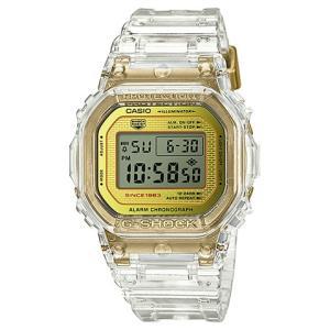 カシオ CASIO 腕時計 G-SHOCK ジーショック GLACIER GOLD 35周年記念モデル DW-5035E-7JR メンズ時計|kobayashi-tokeiten