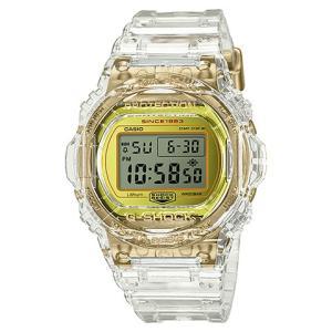 カシオ CASIO 腕時計 G-SHOCK ジーショック GLACIER GOLD 35周年記念モデル DW-5735E-7JR メンズ時計|kobayashi-tokeiten