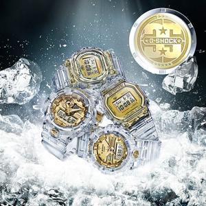 カシオ CASIO 腕時計 G-SHOCK ジーショック GLACIER GOLD 35周年記念モデル DW-5735E-7JR メンズ時計|kobayashi-tokeiten|03
