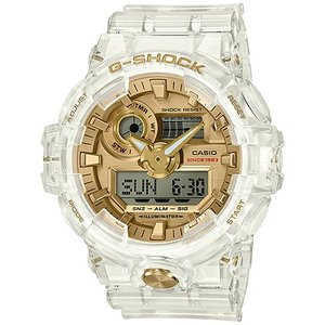 カシオ CASIO 腕時計 G-SHOCK ジーショック GLACIER GOLD 35周年記念モデル GA-735E-7AJR メンズ時計|kobayashi-tokeiten