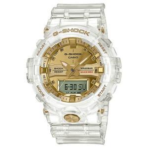 カシオ CASIO 腕時計 G-SHOCK ジーショック GLACIER GOLD 35周年記念モデル GA-835E-7AJR メンズ時計|kobayashi-tokeiten