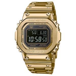 【送料無料】G-SHOCK【ラッピング無料】 CASIO 腕時計 G-SHOCK ジーショック Bluetooth 搭載 電波ソーラー GMW-B5000GD-9JF メンズ|kobayashi-tokeiten
