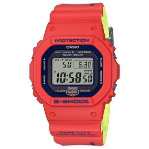 神戸市消防局 救助隊50周年 コラボレーションモデル 腕時計 G-SHOCK ジーショック GW-B5600FB-4JR|kobayashi-tokeiten