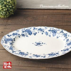 美しい白生地に濃紺の絵柄が美しいロイヤルマイセンの楕円皿です。 在庫整理の為 特価販売をしています。...